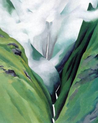 Джорджия О'Киф. Водопад №3, Долина Иао