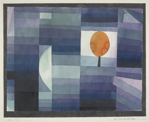 Paul Klee. The messenger of autumn