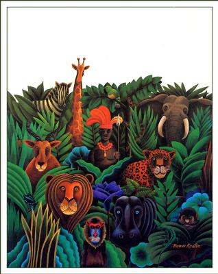 Берни Карлин. Животные в кустах