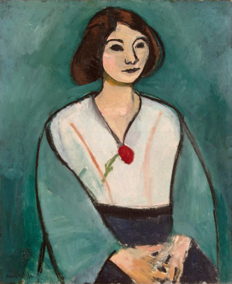 Henri Matisse. The lady in green