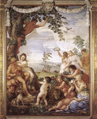 Pietro Da Cortona. Plot 12