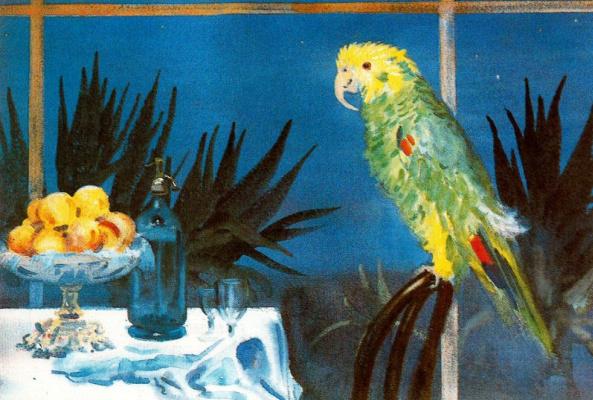 Джордж Оуэн Винн Апперлей. Попугай