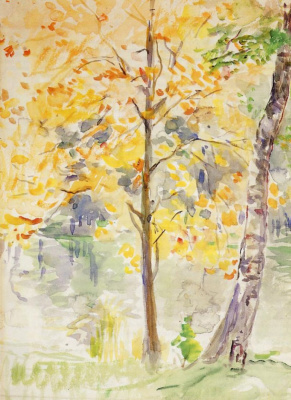 Fall colors in the Bois de Boulogne