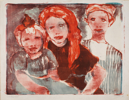 Emil Nolde. The Fisherman's Children