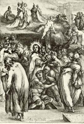 Jacques Bellange. The Resurrection Of Lazarus