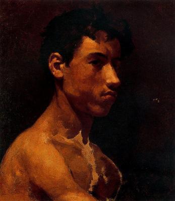 Пабло Пикассо. Бюст молодого человека