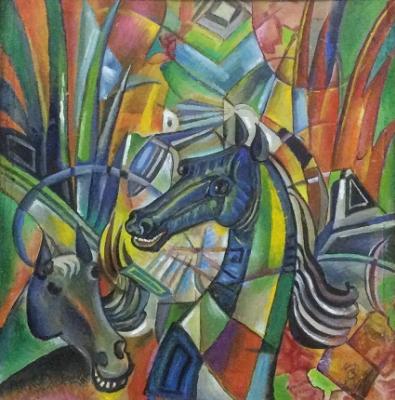 Vladimir Petrovich Chernov. Horse snakes