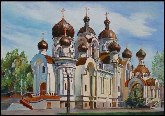 Андрей Богданов. Храм Жен Мироносиц