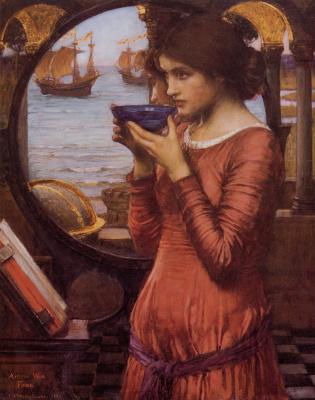 John William Waterhouse. Destiny