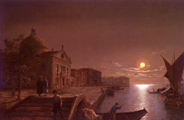 Генри Петер. Лунный свет в Венеции