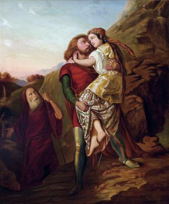 Johann Friedrich Overbeck. Moses and Zipporah