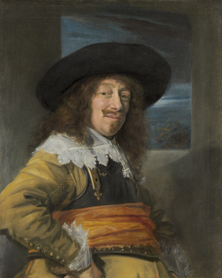France Hals. Portrait of an officer