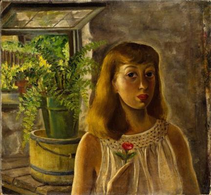Lee Krasner. Self-portrait