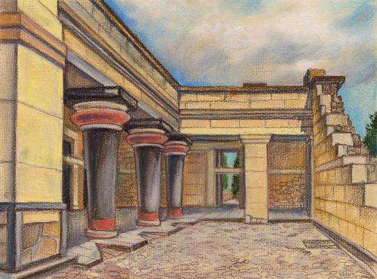 Irina Soboleva. The Palace of Knossos