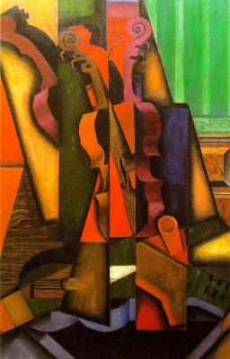 Juan Gris. Violin and guitar