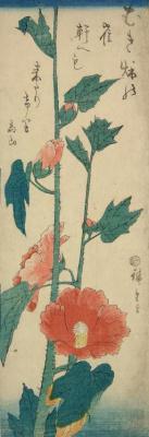 Utagawa Hiroshige. Mallow