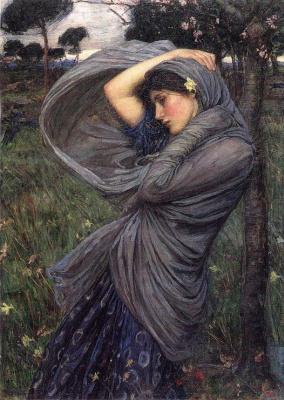 John William Waterhouse. The North wind