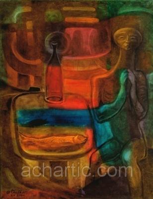 Александр Чулков. A.CH.ART_F1/48. Cafe Aliens - Кафе инопланетян.