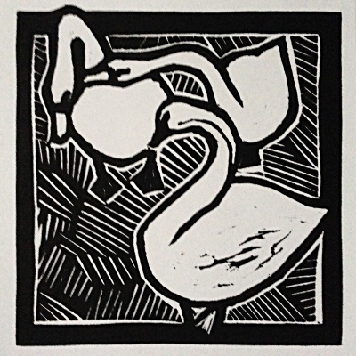 Alexander Tonkoshkurov. Swan geese