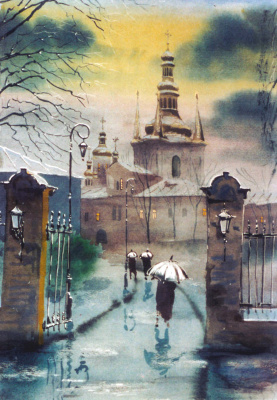 Alexey Yuryevich Maslov. The monastery Lavra
