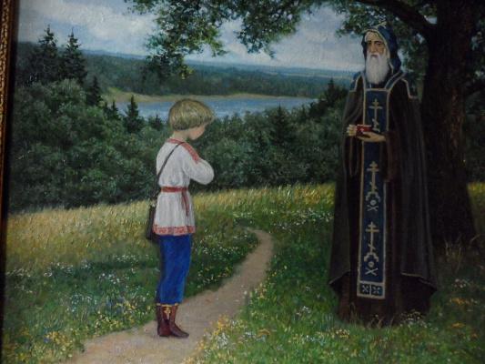 Александр валерьевич петухов. Видение отроку Варфоломею