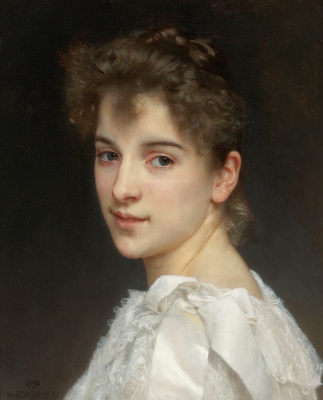 William-Adolphe Bouguereau. Portrait Of Gabrielle