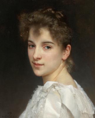 William-Adolphe Bouguereau. Portrait Of Gabrielle