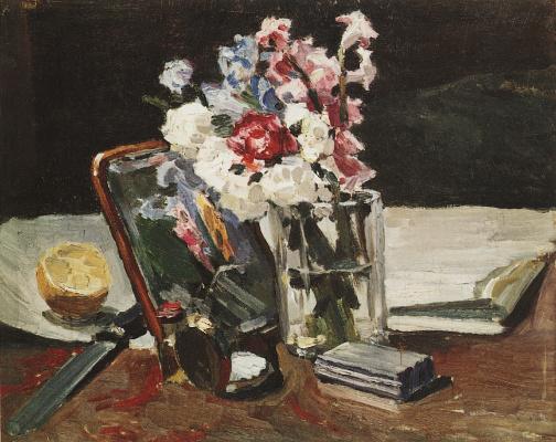 Victor Elpidiforovich Borisov-Musatov. Still life. Flowers