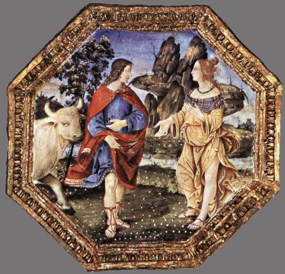 Pinturicchio. Ceiling decoration