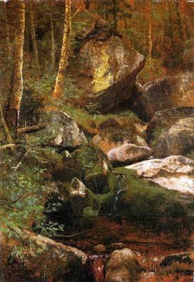 Альберт Бирштадт. Лесной ручей