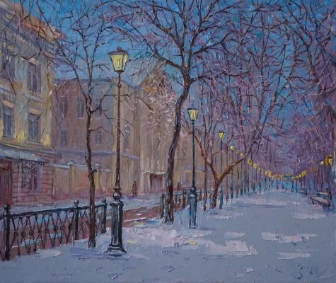 Alexander Panyukov. Walk along the Boulevard