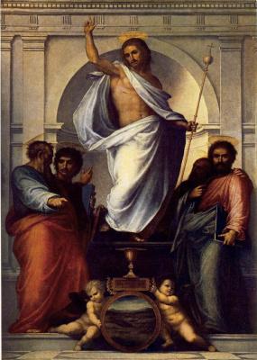 Фра Бартоломео. Христос с четырьмя евангелистами