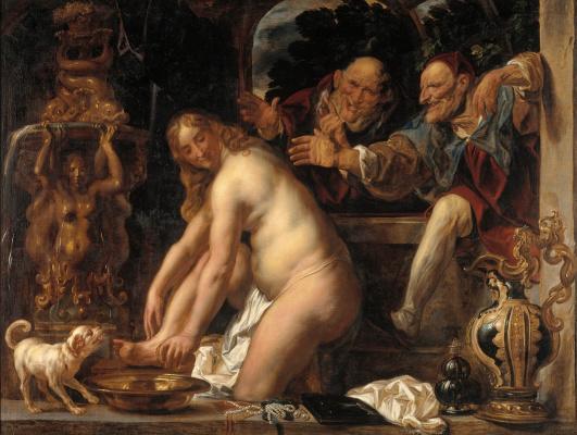 Якоб Йорданс. Susanna and the Elders