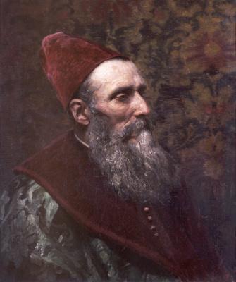 Vasily Dmitrievich Polenov. Venetian Doge