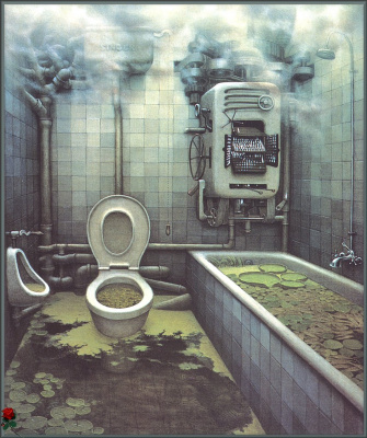 Jacek Yerka. Back to nature