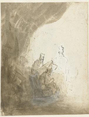 Рембрандт Харменс ван Рейн. Три книжника