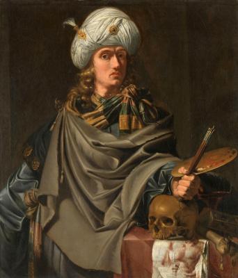 Франс Питерс де Греббер. Античный художник (Автопортрет) 1628-1636