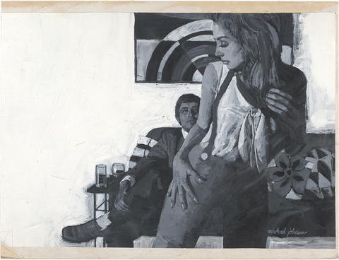 Michael Johnson. Woman's Mirror