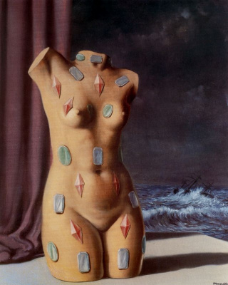 René Magritte. A drop of water
