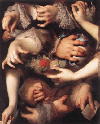 Никола де Ларджильер. Руки