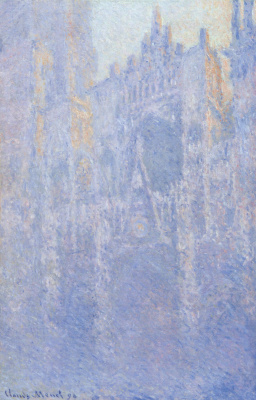 Клод Моне. Руанский собор, главный вход, утренний туман