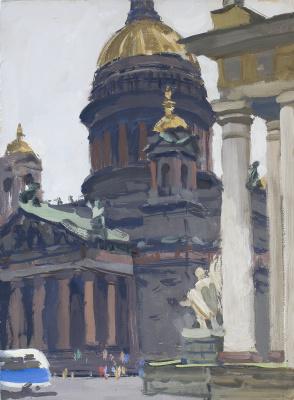 Владимир Иосифович Ружо. Исаакиевский собор. Санкт-Петербург