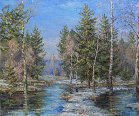 Victor Vladimirovich Kuryanov. Happy spring
