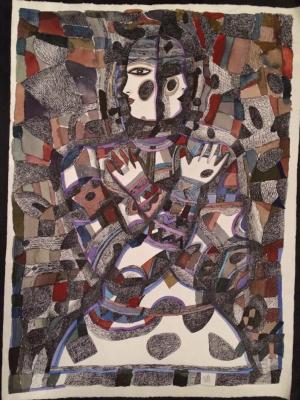 Igor Vasilyevich Kislitsyn. Purple depth