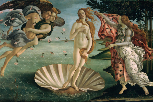 Sandro Botticelli. Birth Of Venus