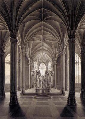 Карл-Фридрих Шинкель. Памятник королеве Луизе