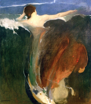 Arthur Frank Matthews. Wave