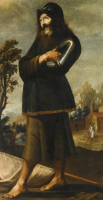 Francisco de Zurbaran. St. William Of Aquitaine