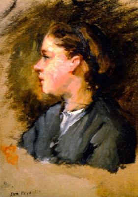 Eva Gonzalez. Jeanne Gonzales in Profile