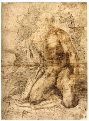Michelangelo Buonarroti. Saint Jerome